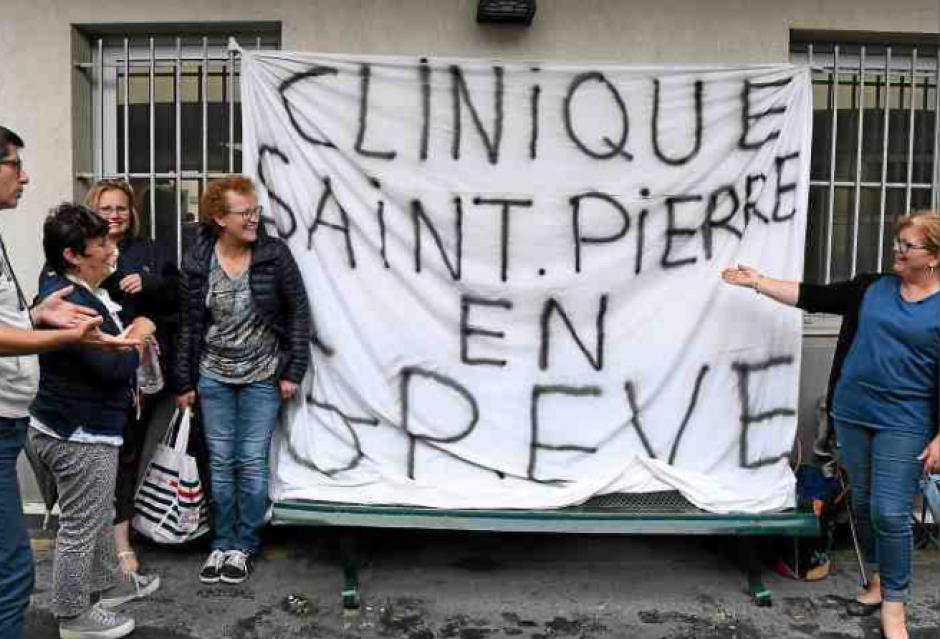 La clinique Saint-Pierre reste paralysée par la grève