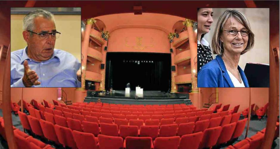 Perpignan. Pour la ministre de la Culture, le théâtre municipal doit rester un théâtre