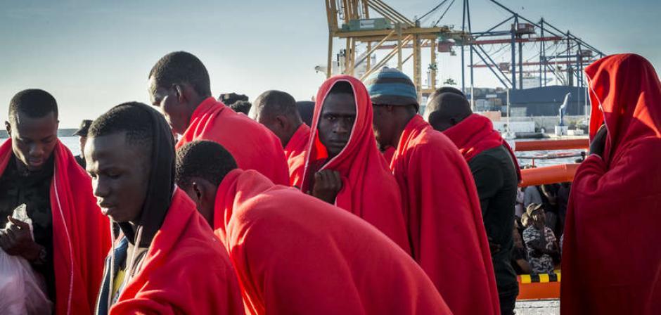 Solidarité avec les migrants. Le Serment du 104