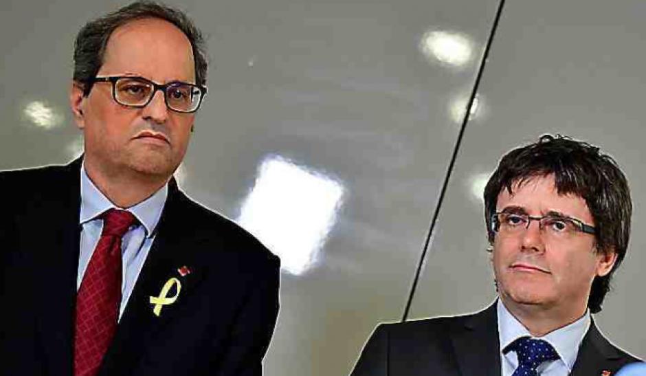 Gouvernement catalan. Quim Torra ouvre les hostilités