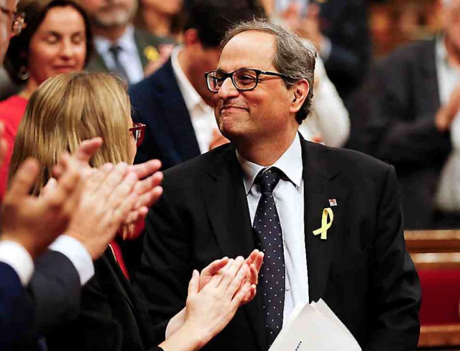Catalogne. Le discours offensif du candidat Quim Torra déstabilise Rajoy