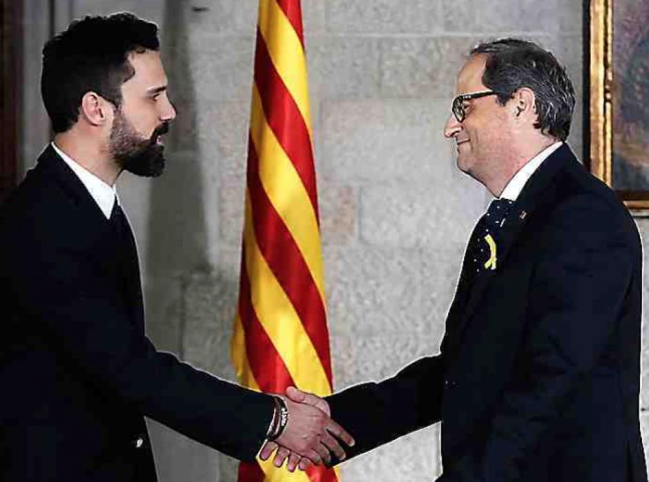 Catalogne. Le président Torra jure fidélité « à la volonté du peuple catalan »