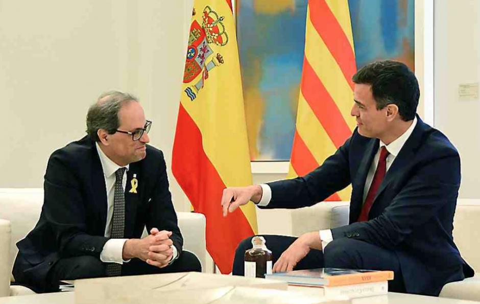 Catalogne. Malgré le dégel, Quim Torra inflexible sur l'indépendance