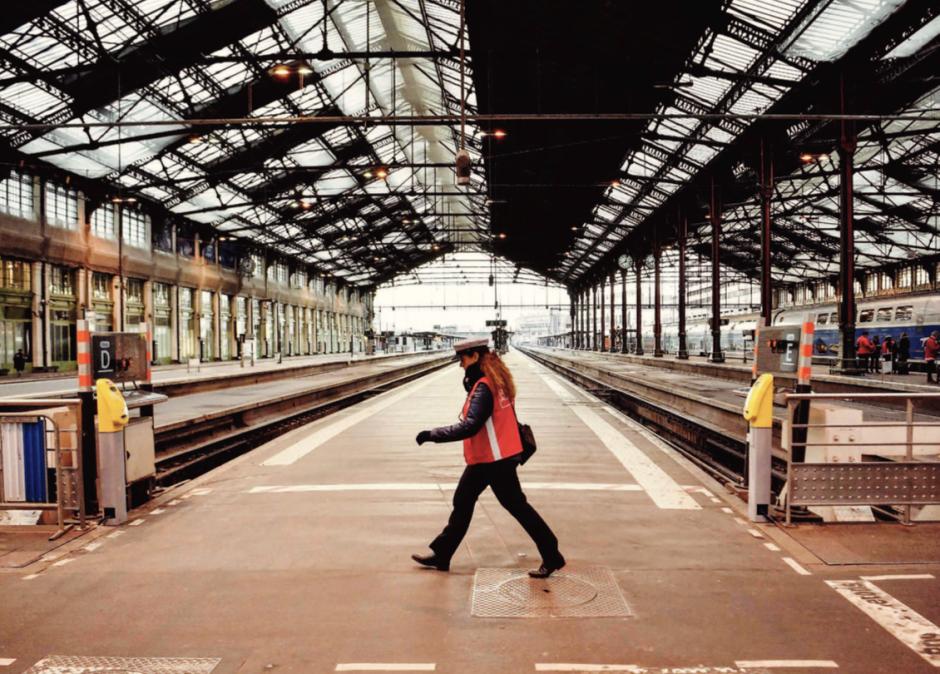 Des cheminots mobilisés pour faire avancer une autre idée du rail