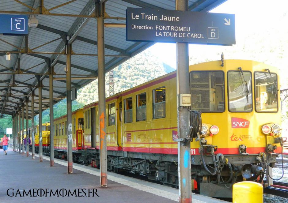 Un moratoire pour le Train jaune. Le Train jaune vendu à la découpe.