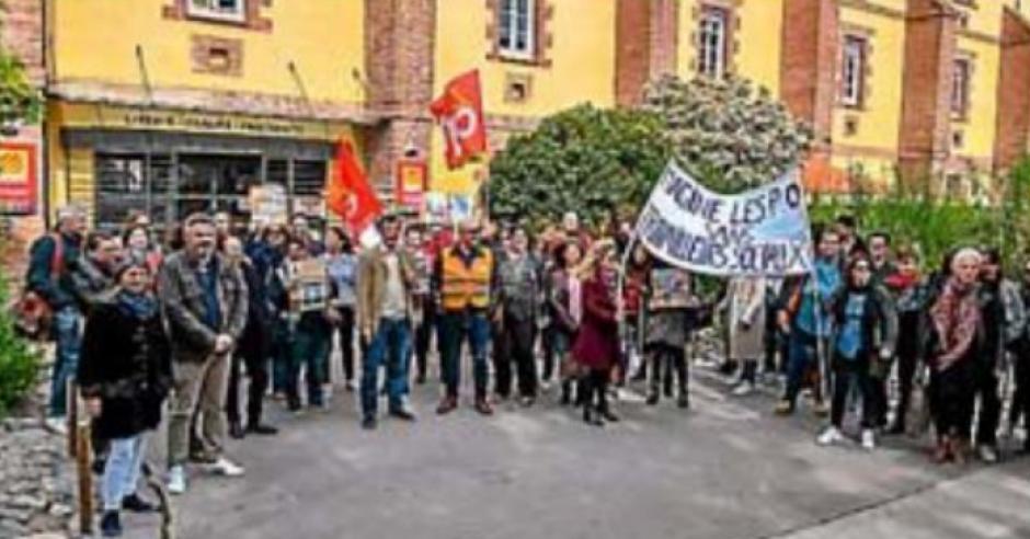 Les travailleurs sociaux reçus plus de 2 heures par Hermeline Malherbe