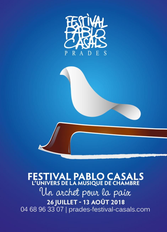 Un archet pour la paix. Festival Pablo Casals 2018