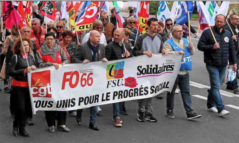 Manifestation du 1er mai. Unis dans la diversité