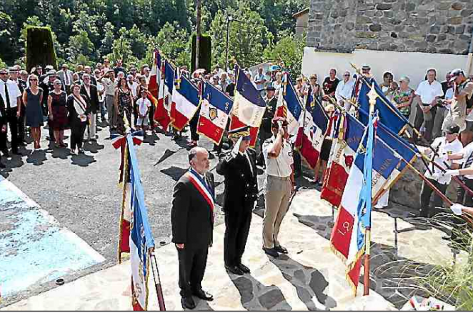 Valmanya. On a célébré l'anniversaire des combats et de l'incendie du village