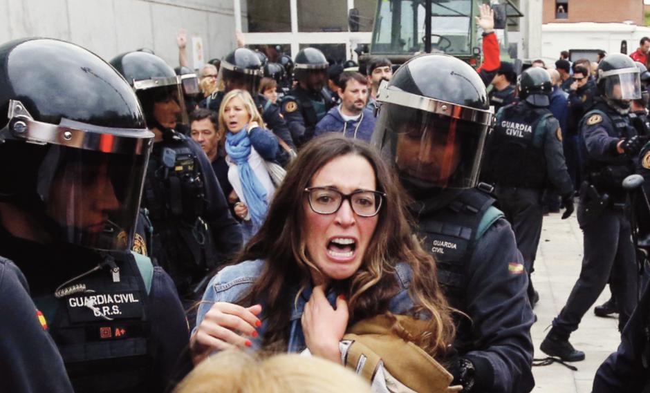 Espagne. La matraque pour empêcher les Catalans de s'exprimer