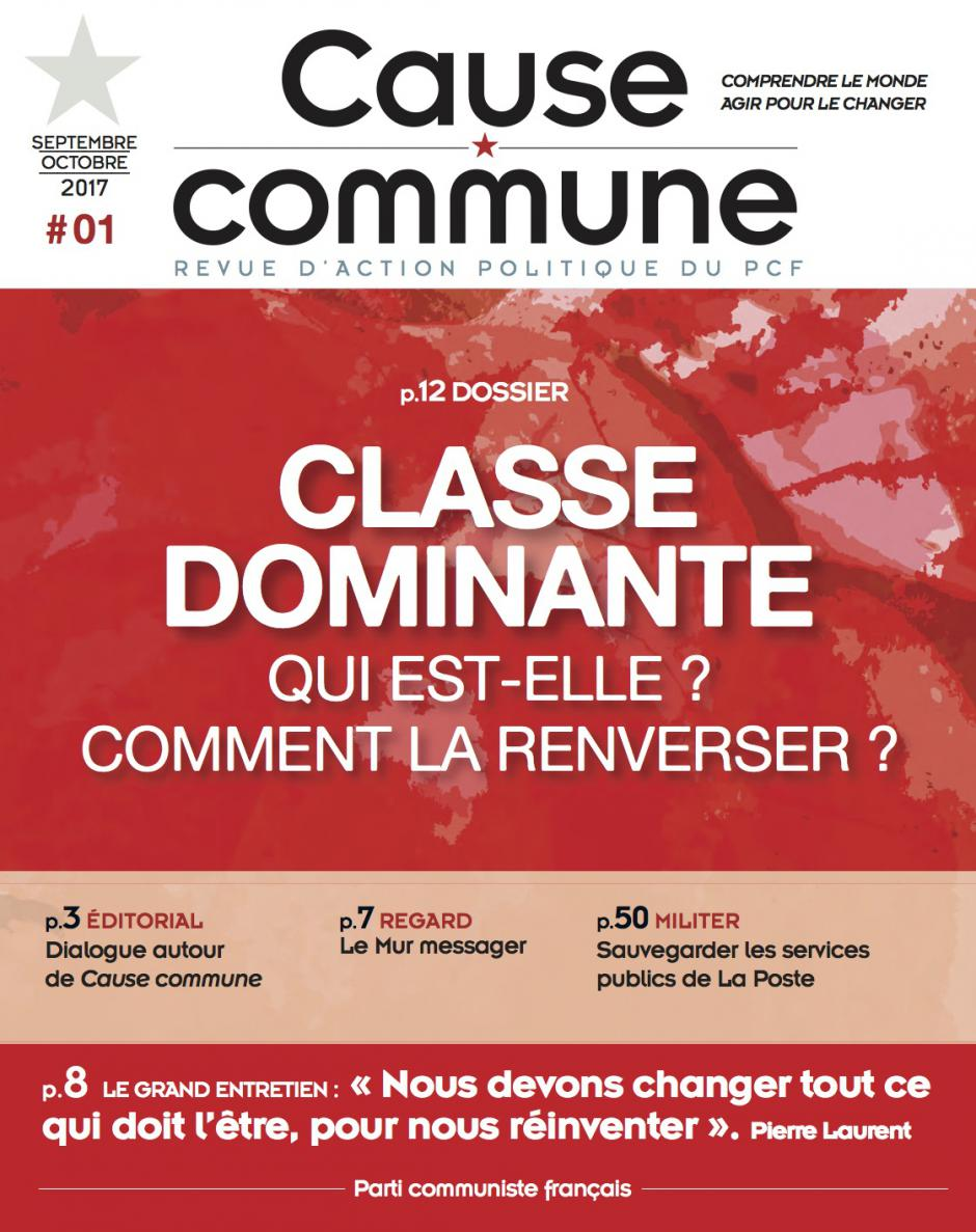 Cause commune n°1 (septembre-octobre 2017)