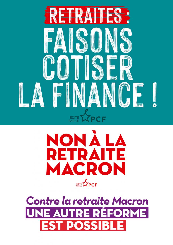 Macron entend mais continue