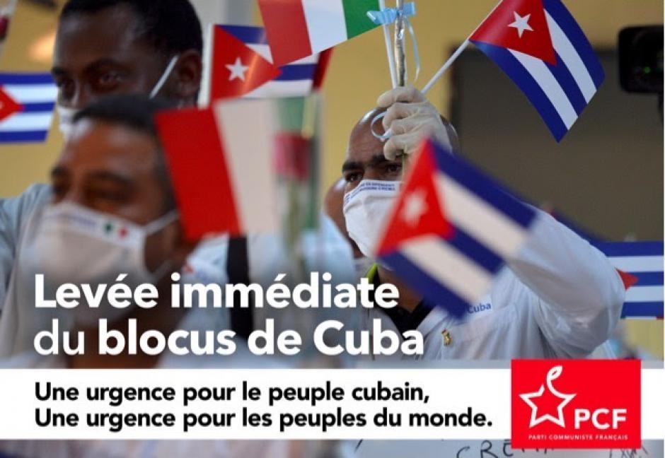Cuba. Le PCF exige la levée du blocus