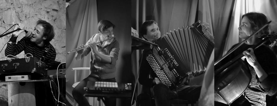 Le groupe Ublot en concert