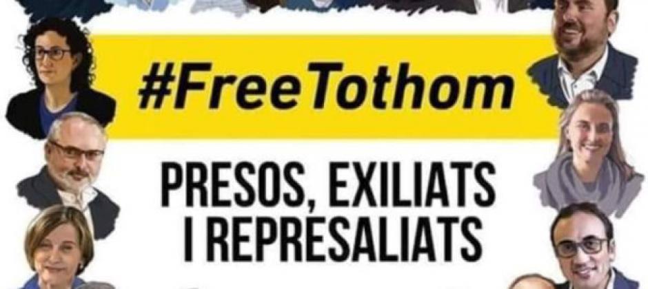 Congrès départemental de la Fédération PCF des Pyrénées-Orientales. Motion de soutien aux prisonniers politique de la Catalogne du sud