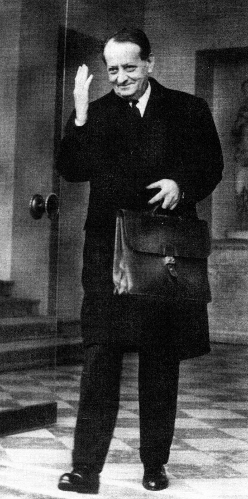 Les rendez-vous de St-Estève. André Malraux, un ministre de la culture visionnaire