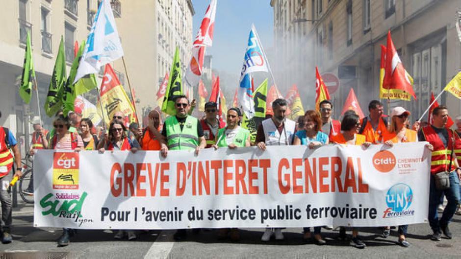 Dette de la SNCF. L'argent des banques et de la BCE pour les services publics, pas pour la finance !
